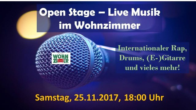 Drums of Panama @ WelcomeIN Wohnzimmer, 25.11.2017 – Trommeln in Fulda