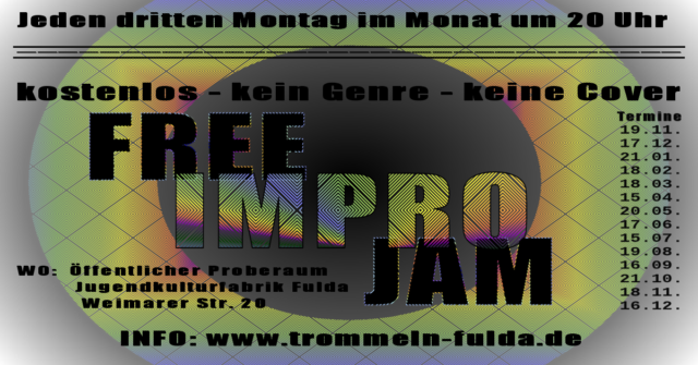 Free Impro Jam @ Jugendkulturfabrik | Fulda | Hessen | Deutschland