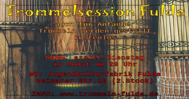 Trommelsession @ Jugendkulturfabrik